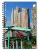 Tropical Chicago Spiral Notebook