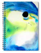 Tropical Fish 3 - Abstract Art By Sharon Cummings Spiral Notebook