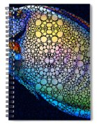 Tropical Fish Art 6 - Painting By Sharon Cummings Spiral Notebook