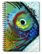 Tropical Fish - Art By Sharon Cummings Spiral Notebook