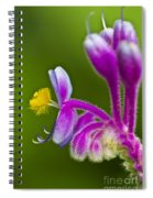 Tropical Flower Detail Spiral Notebook