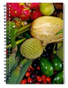Tropical Fruits Spiral Notebook