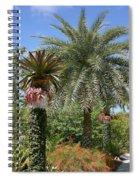 Tropical Garden Spiral Notebook