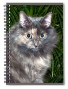 Tropical Kitty Spiral Notebook