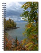 Tropical Mountain Ash Spiral Notebook