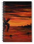 Tropical Night Spiral Notebook