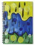 Tropical Rain Spiral Notebook