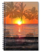 Tropical Spirits - Palm Tree Art By Sharon Cummings Spiral Notebook
