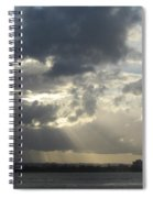 Tropical Stormy Sky Spiral Notebook