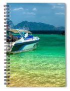 Tropical Travel Spiral Notebook