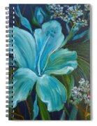 Tropical Turquoise Spiral Notebook