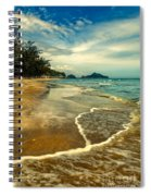 Tropical Waves Spiral Notebook
