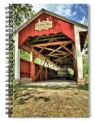 Trostle Town Covered Bridge Spiral Notebook