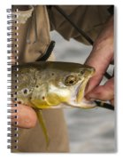 Trout Dentistry Spiral Notebook