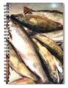 Trout Digital Painting Spiral Notebook