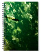 Trout In Emerald Spiral Notebook