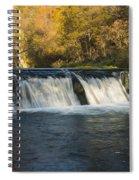 Trout Run Creek Dam 2 Spiral Notebook