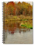 Trout Stream II- Textured Spiral Notebook