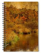 Trout Stream Textured Spiral Notebook