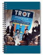 Troy Stopover Spiral Notebook