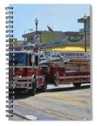 Truck 2 Sffd Spiral Notebook