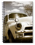 Truck And Trailer Spiral Notebook