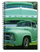 Truck In Grill Spiral Notebook