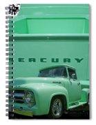 Truck In Tailgate Spiral Notebook