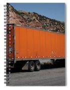 Truck Stop Spiral Notebook
