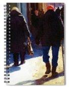 Trudging Along Spiral Notebook
