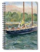 True Love Schooner Spiral Notebook
