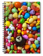 Truffle And Candy Spiral Notebook