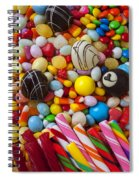 Truffles And Assorted Candy Spiral Notebook