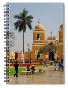 Trujillo Peru Plaza Spiral Notebook