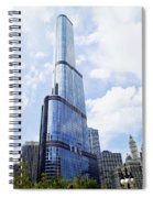 Trump Tower 3 Letter Signage Spiral Notebook