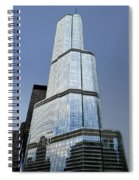 Trump Tower Facade 3 Letter Signage Spiral Notebook