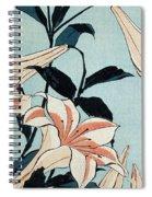 Trumpet Lilies Spiral Notebook