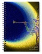 Trumpet Moon Spiral Notebook