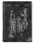 Trumpet Patent Spiral Notebook