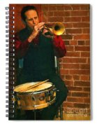 Trumpet Solo Spiral Notebook