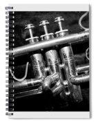 Trumpet Triptych Spiral Notebook