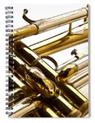 Trumpet Valves Spiral Notebook