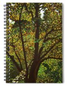 Trunk Of Life Spiral Notebook