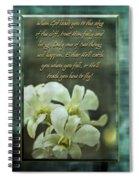 Trusting God Spiral Notebook