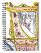 Tsar In Carriage Spiral Notebook