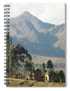 Tsaranoro Mountains Madagascar 1 Spiral Notebook