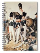 Tsarevich Alexander 1818-81 With His Cadets At Peterhof, C.1823 Wc On Paper Spiral Notebook