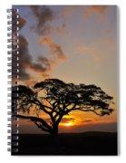 Tsavo Sunset Spiral Notebook