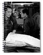 Tsukiji Tokyo Fish Market Spiral Notebook