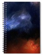Tsunami Abstract Spiral Notebook
